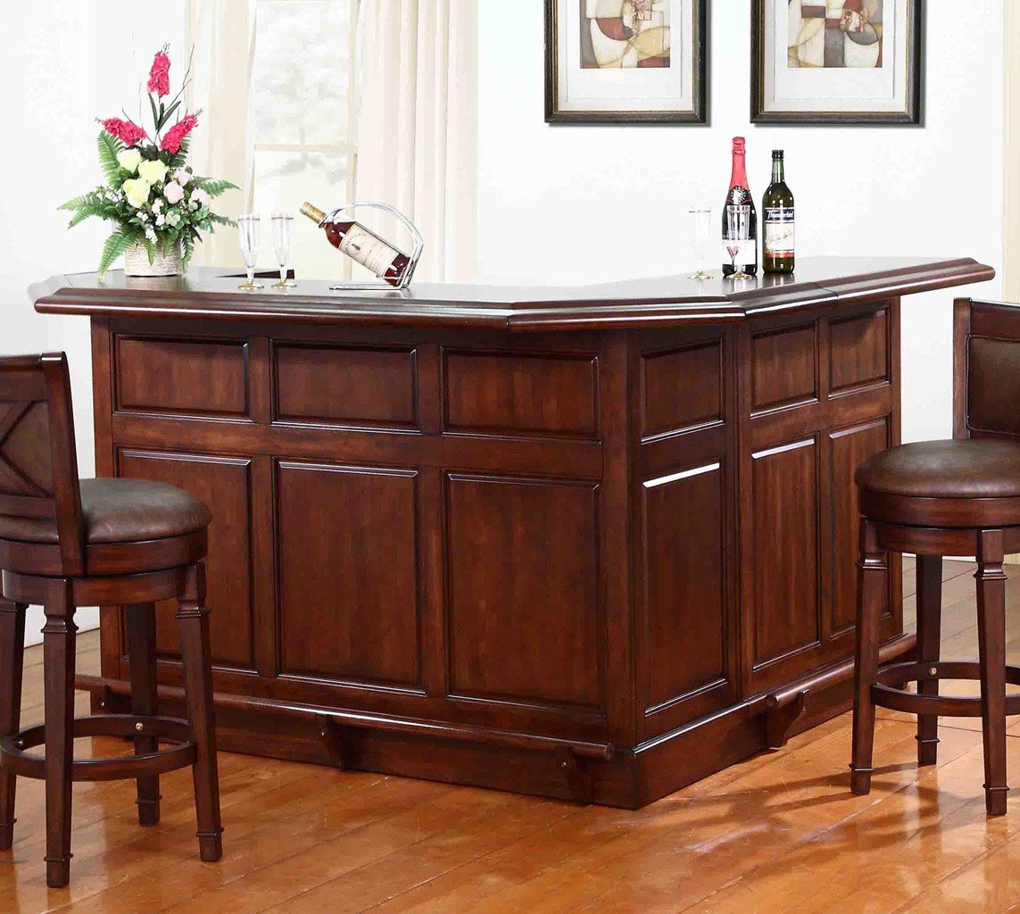 Belvedere Return Home Bar Distressed Walnut By Eci Furniture Furniturepick