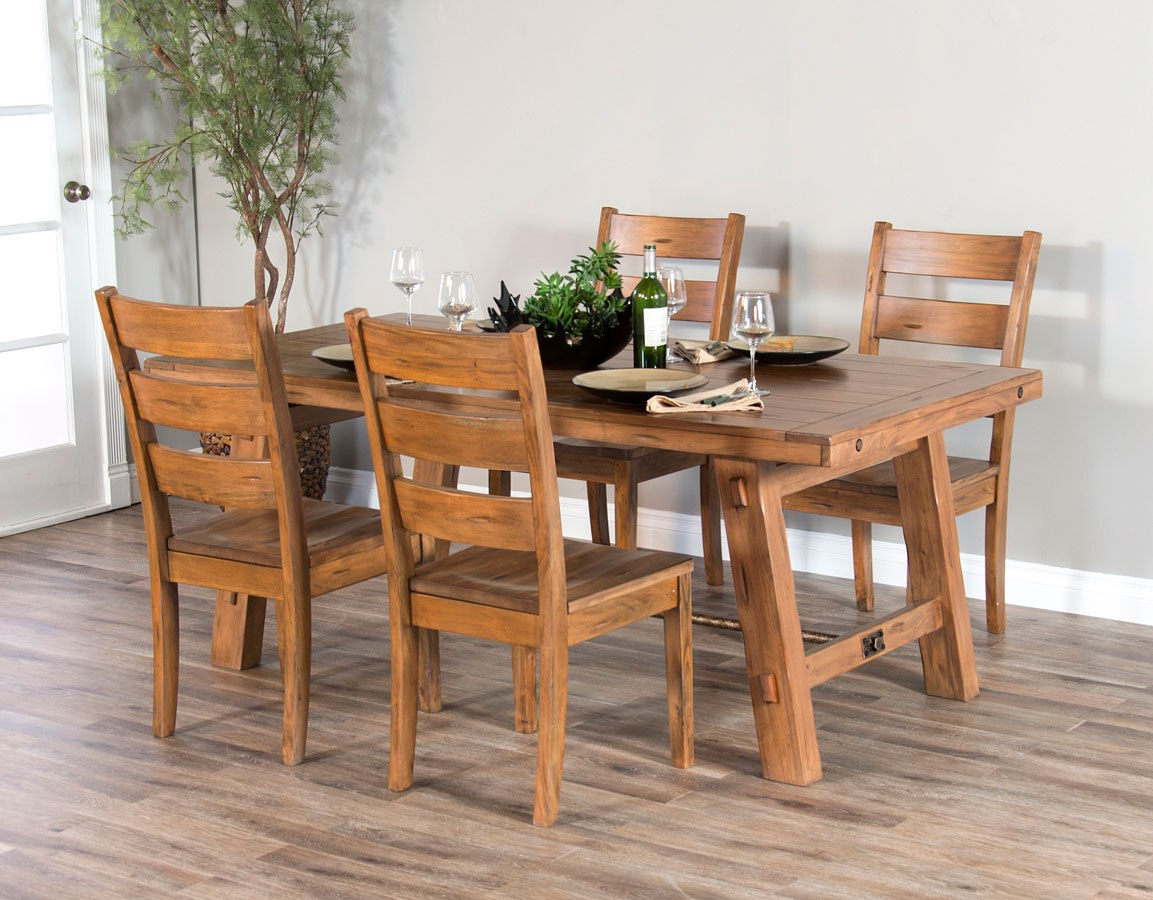 Sierra Trestle Dining Room Set by Sunny Designs ...