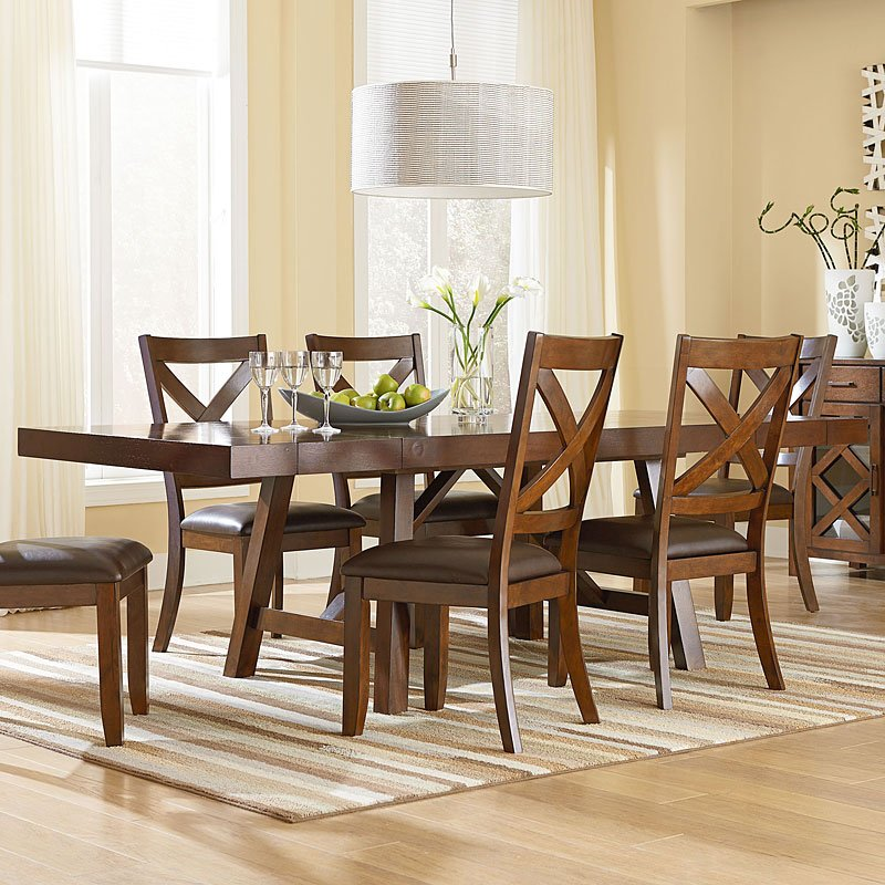 omaha dining room set brownstandard furniture