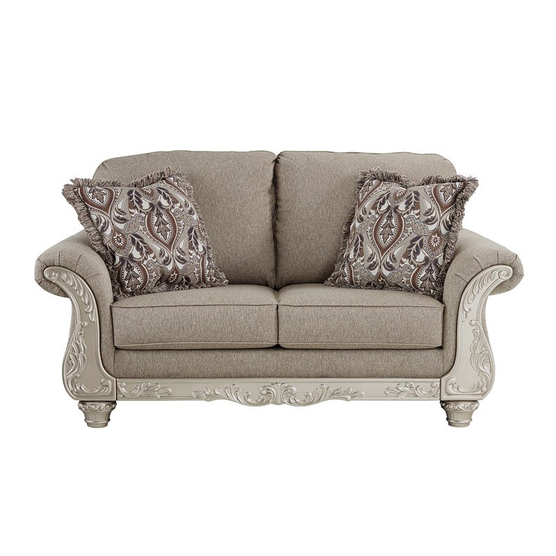 Gailian Smoke Loveseat by Signature Design by Ashley ...