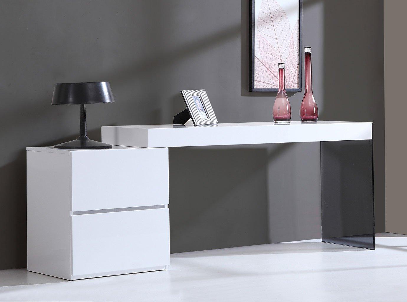 Mia Modern Office Desk By Jm Furniture Furniturepick