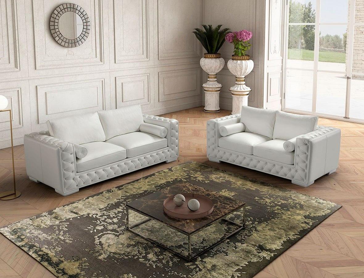 Vanity Living Room Set White By Jm Furniture Furniturepick