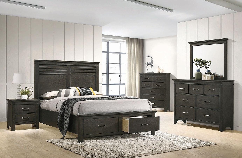 Newberry Storage Bedroom Set By Coaster Furniture Furniturepick