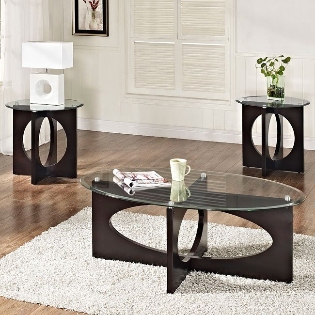 Dania 3 Piece Occasional Table Set By Standard Furniture Furniturepick
