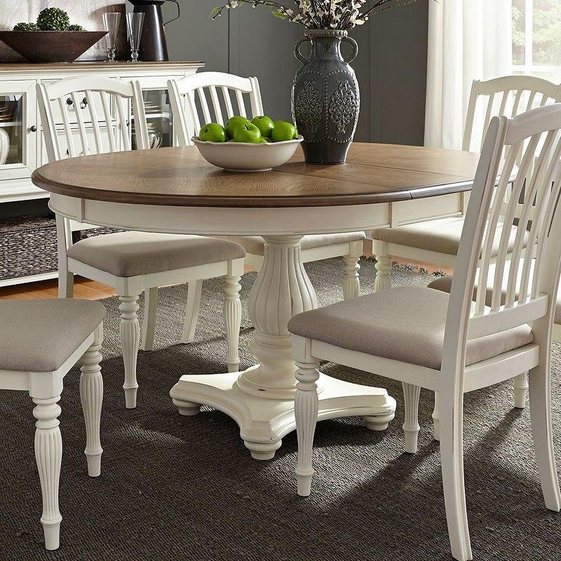 cumberland creek round dining tableliberty furniture
