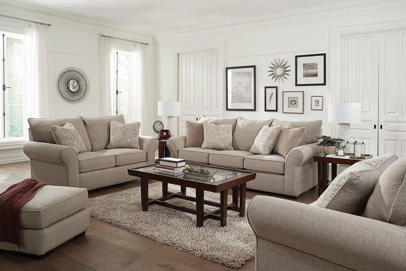 Maddox Living Room Set Stone