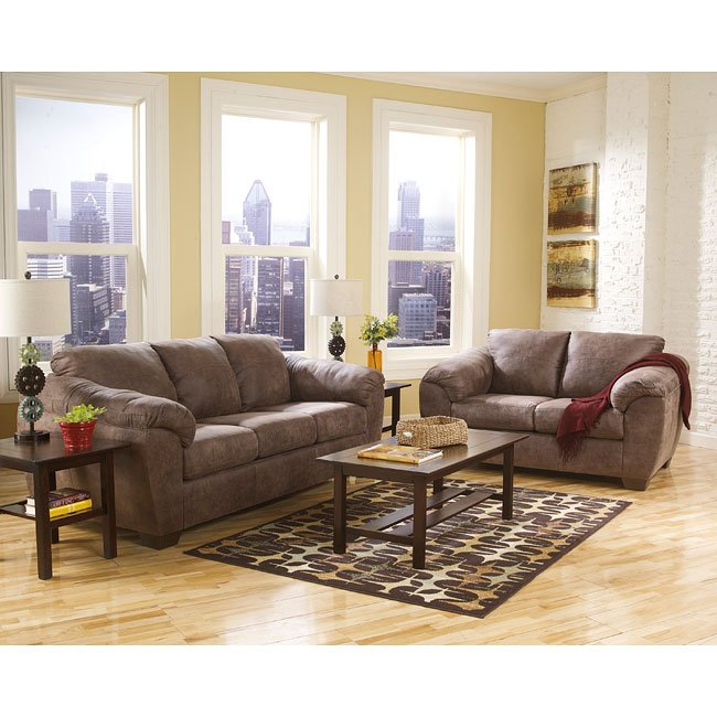 Jathan Mocha Living Room Set Signature Design by Ashley ...