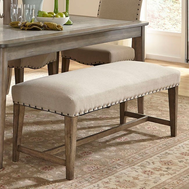Weatherford Upholstered Bench By Liberty Furniture Furniturepick