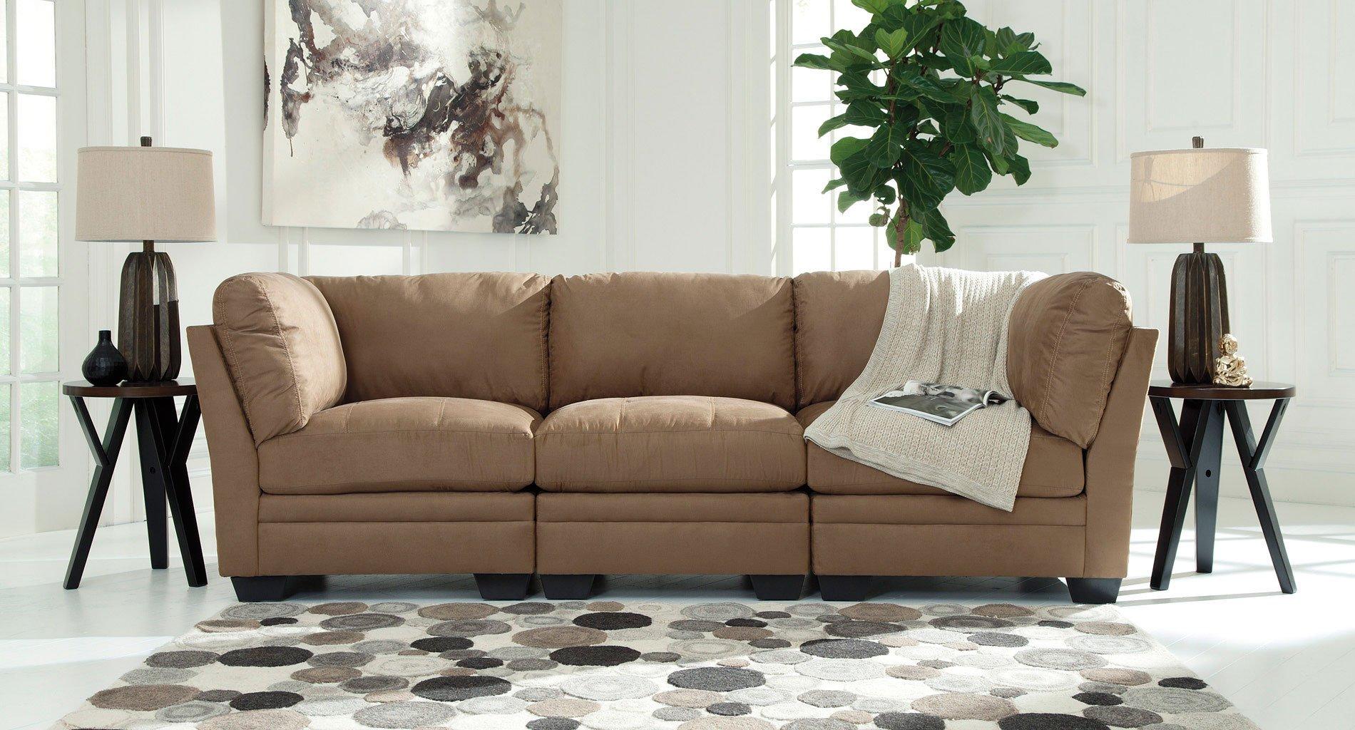 Iago Mocha Sofa by Signature Design by Ashley | FurniturePick