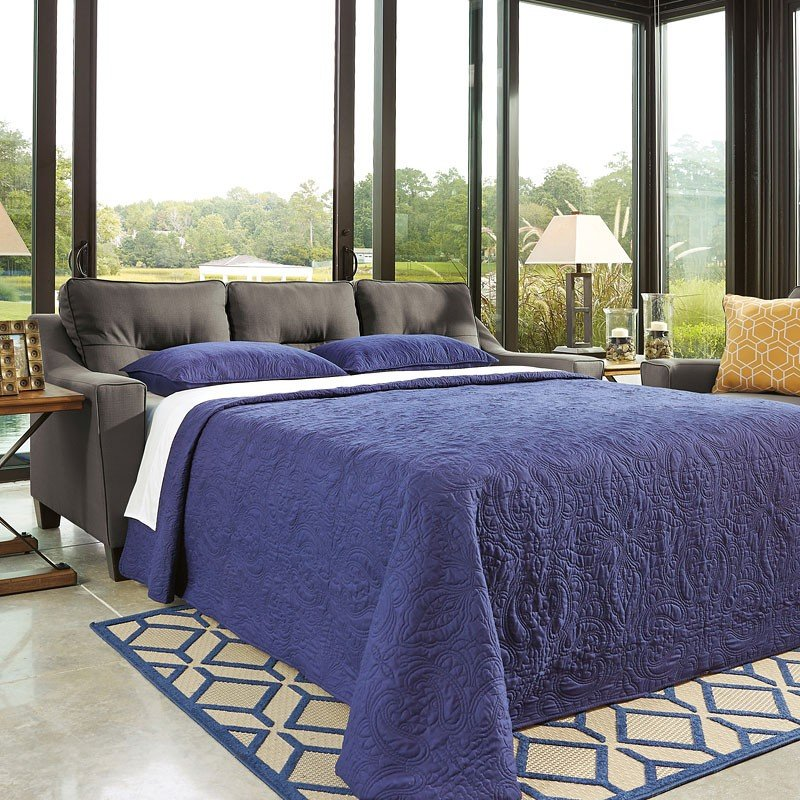 Forsan Nuvella Gray Queen Sofa Sleeper by Signature Design ...