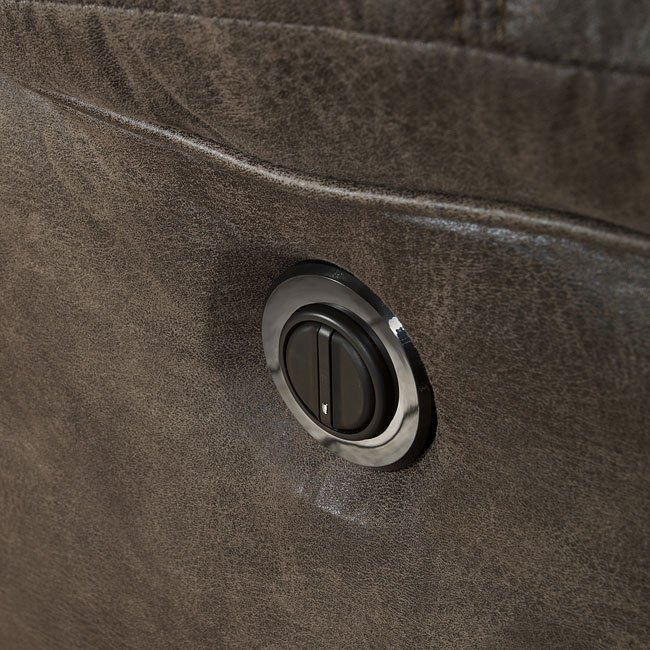 Alzena Gunsmoke Power Reclining Sofa Signature Design By