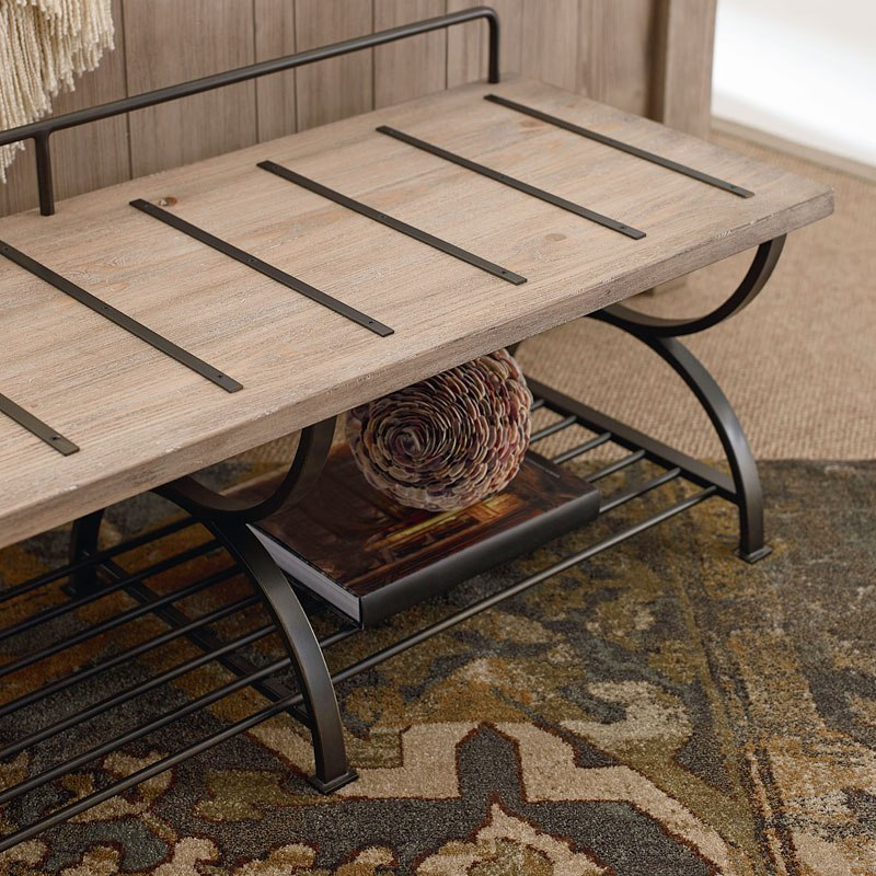 Monteverdi Bed Bench Luggage Rack By Rachael Ray Home By Legacy Classic Furniturepick