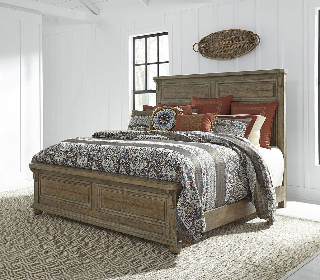 Harvest Home Panel Bed By Liberty Furniture Furniturepick