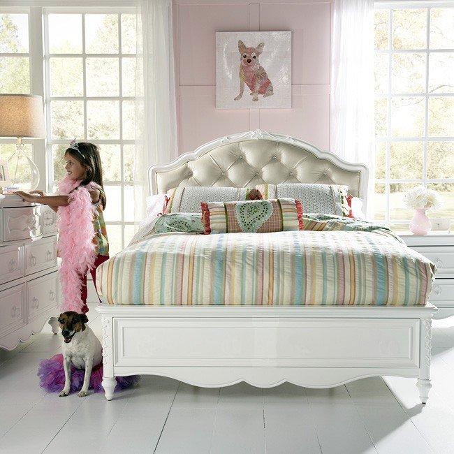 Sweetheart Princess Bedroom Set Samuel Lawrence Furniture Furniturepick