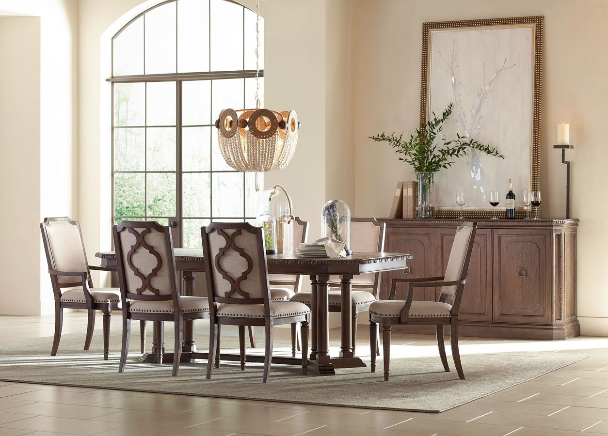 Refined Rustic Rectangular Dining Room Set By Rachael Ray Home By Legacy Classic Furniturepick