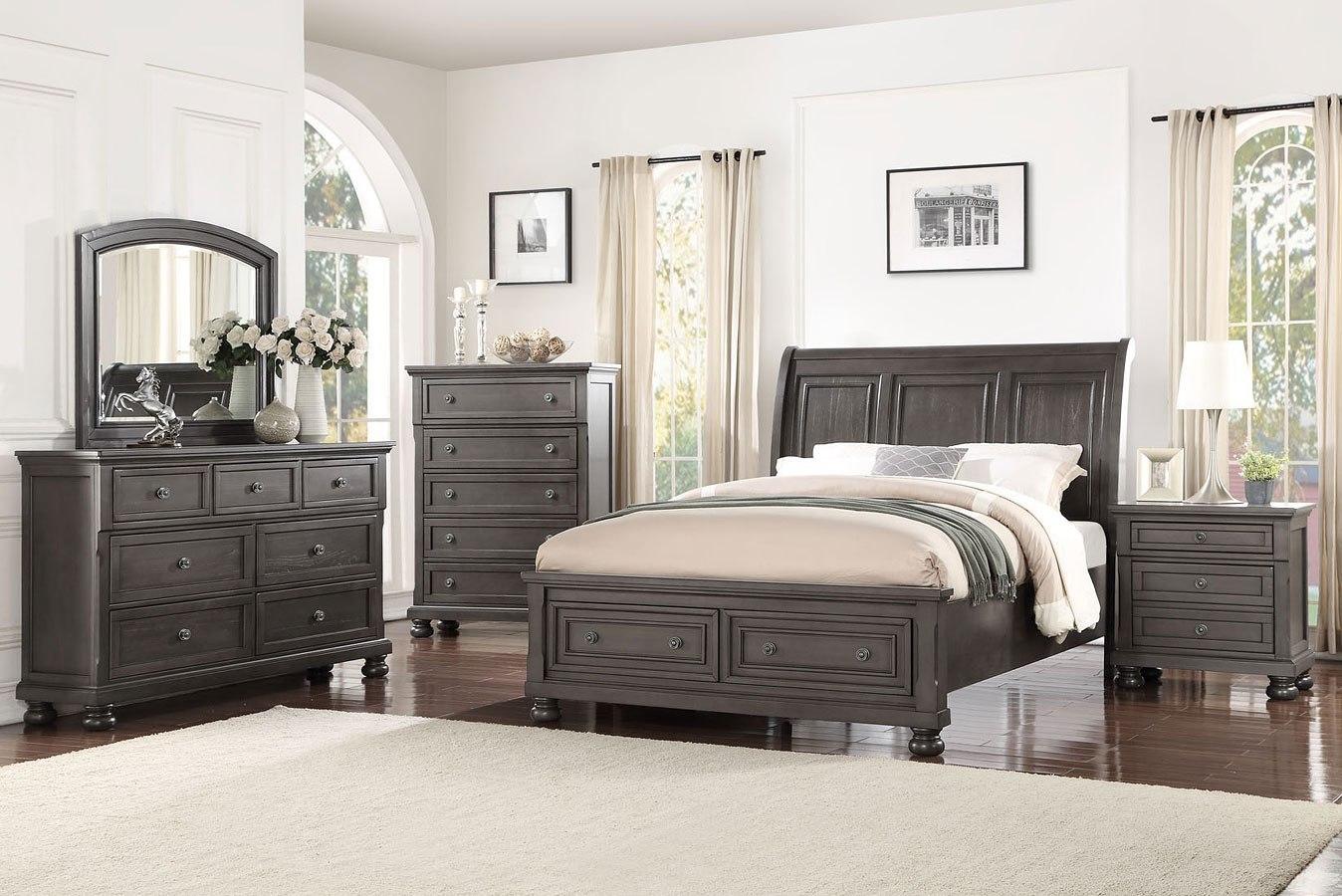 Soriah Sleigh Storage Bedroom Set By Avalon Furniture Furniturepick