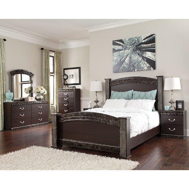 Vachel Poster Bedroom Set Signature Design By Ashley Furniture Furniturepick