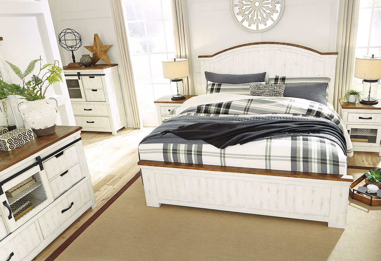 Wystfield Panel Bedroom Set By Signature Design By Ashley Furniturepick