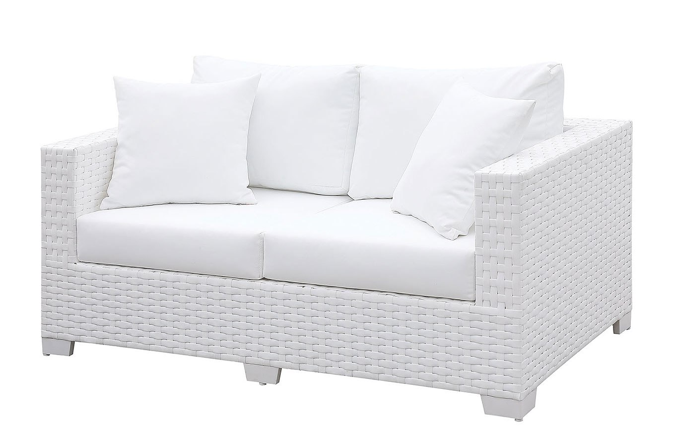 Somani White Outdoor Seating Set By Furniture Of America Furniturepick