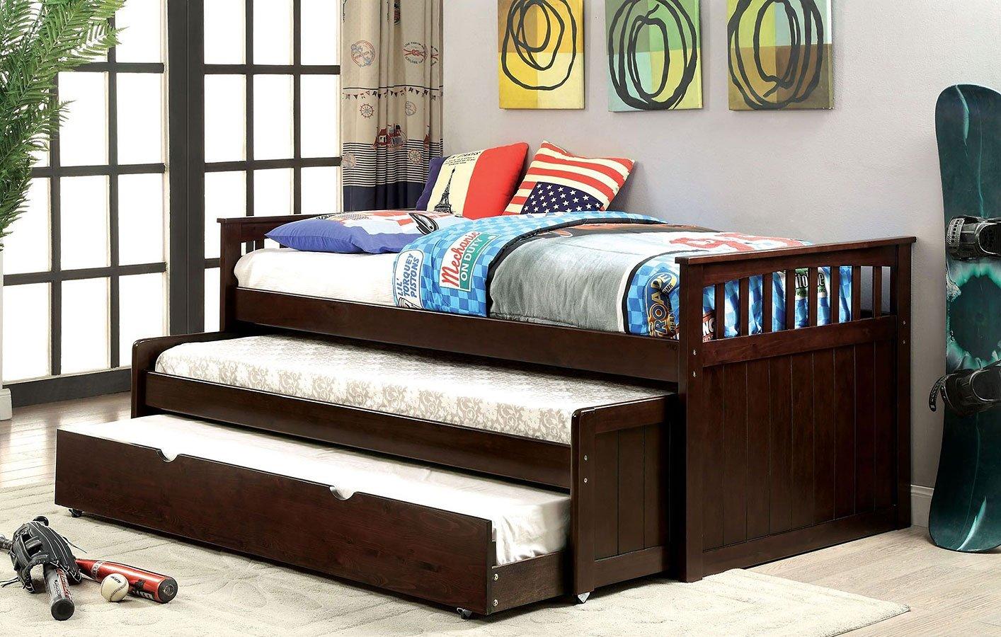 Gartel Nesting Daybed W Trundle By Furniture Of America Furniturepick