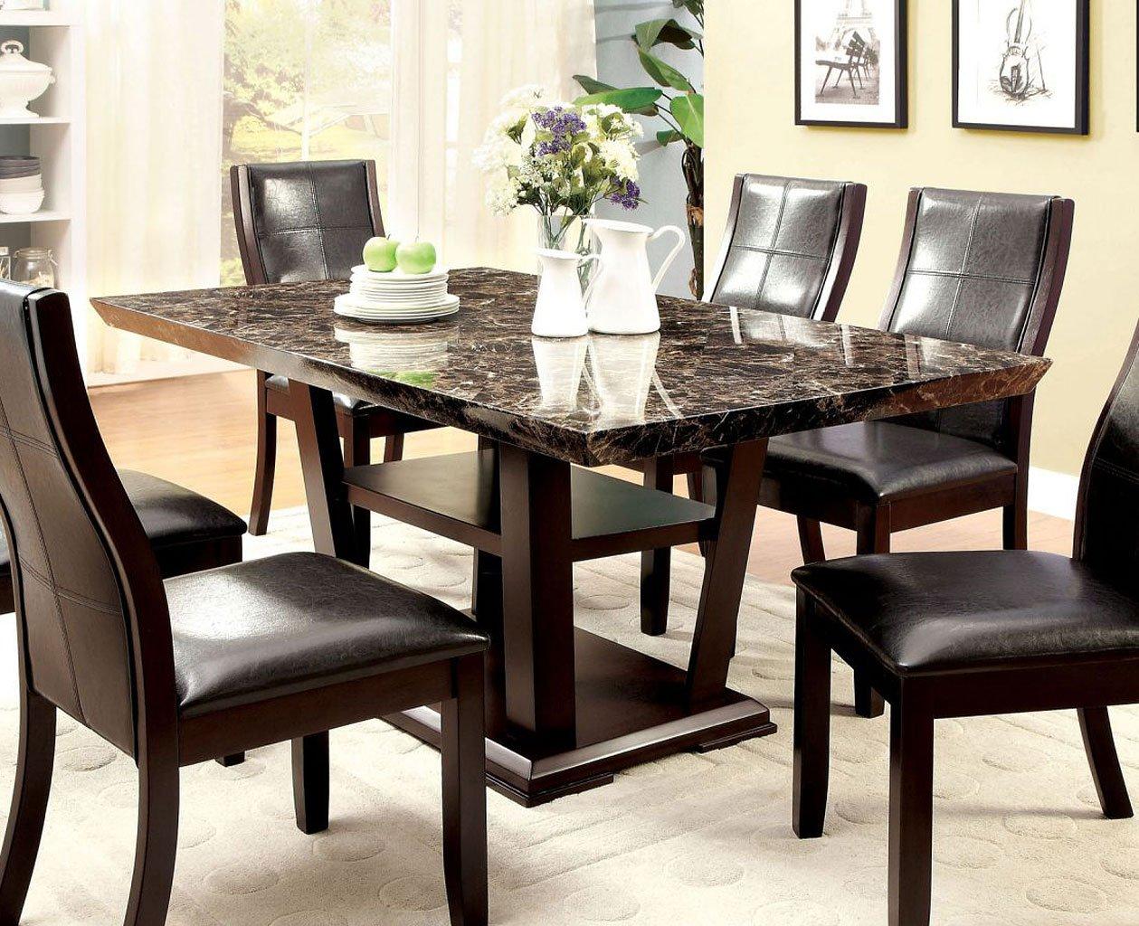 Clayton I Dining Room Set By Furniture Of America Furniturepick