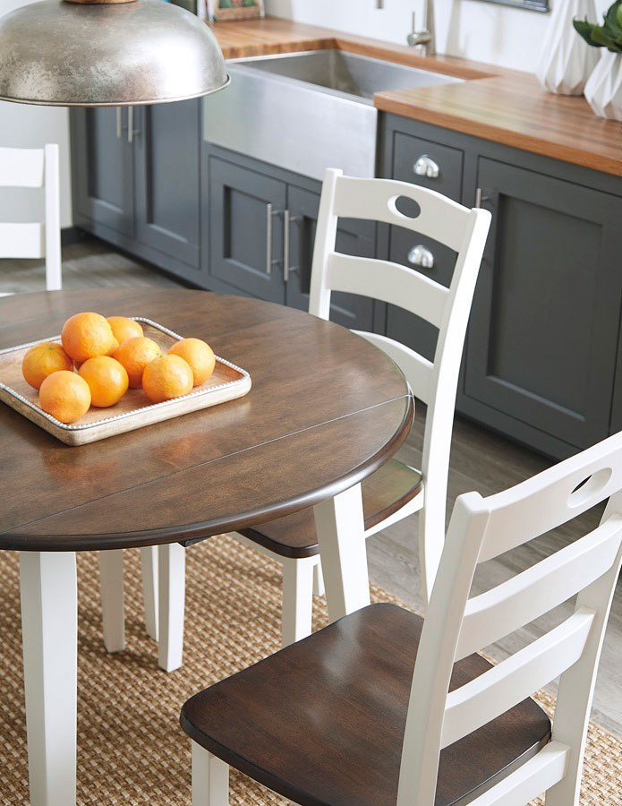 Woodanville Round Dining Room Set By Signature Design By Ashley Furniturepick