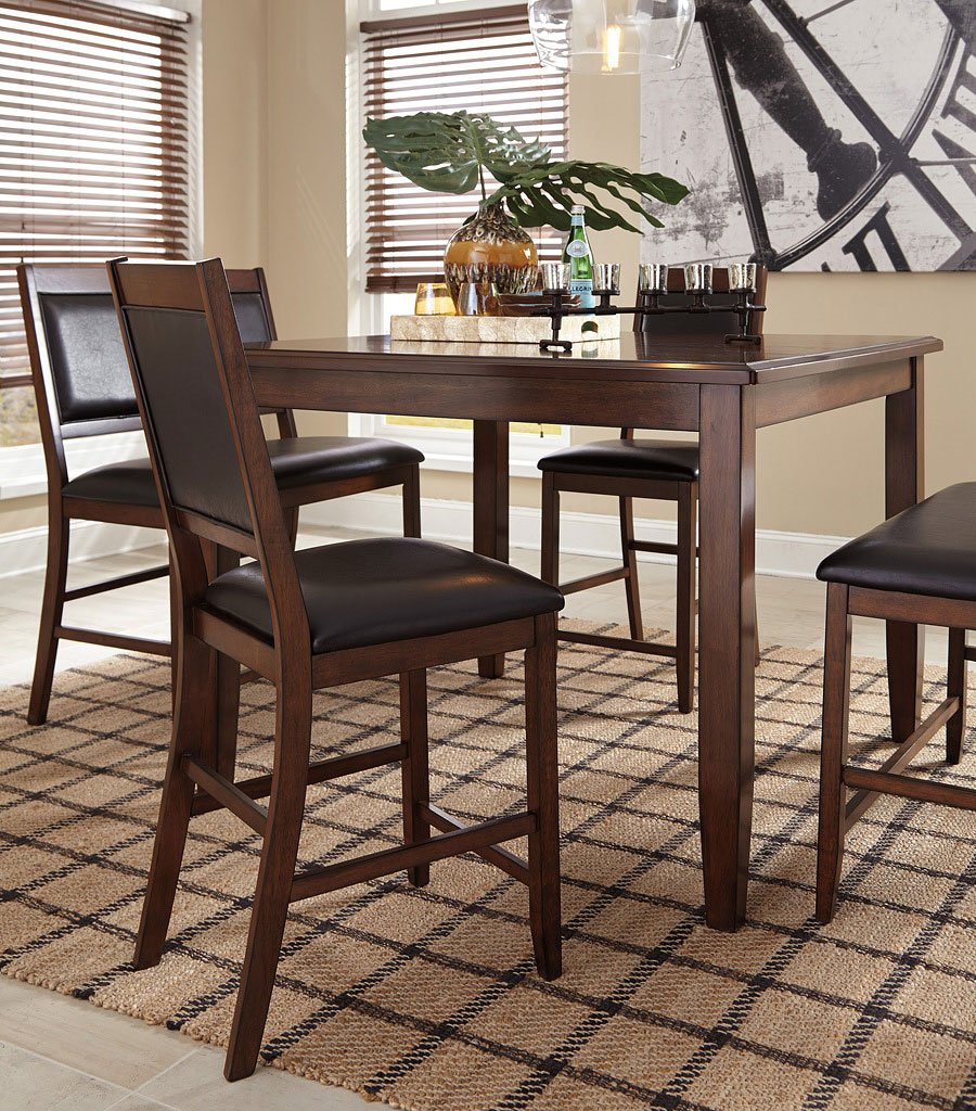 Meredy 5 Piece Counter Height Dining Set By Signature Design By Ashley 1 Review S Furniturepick
