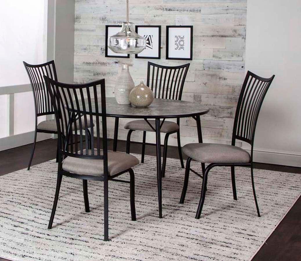 Anna 45 Inch Round Dining Room Set By Cramco Furniturepick