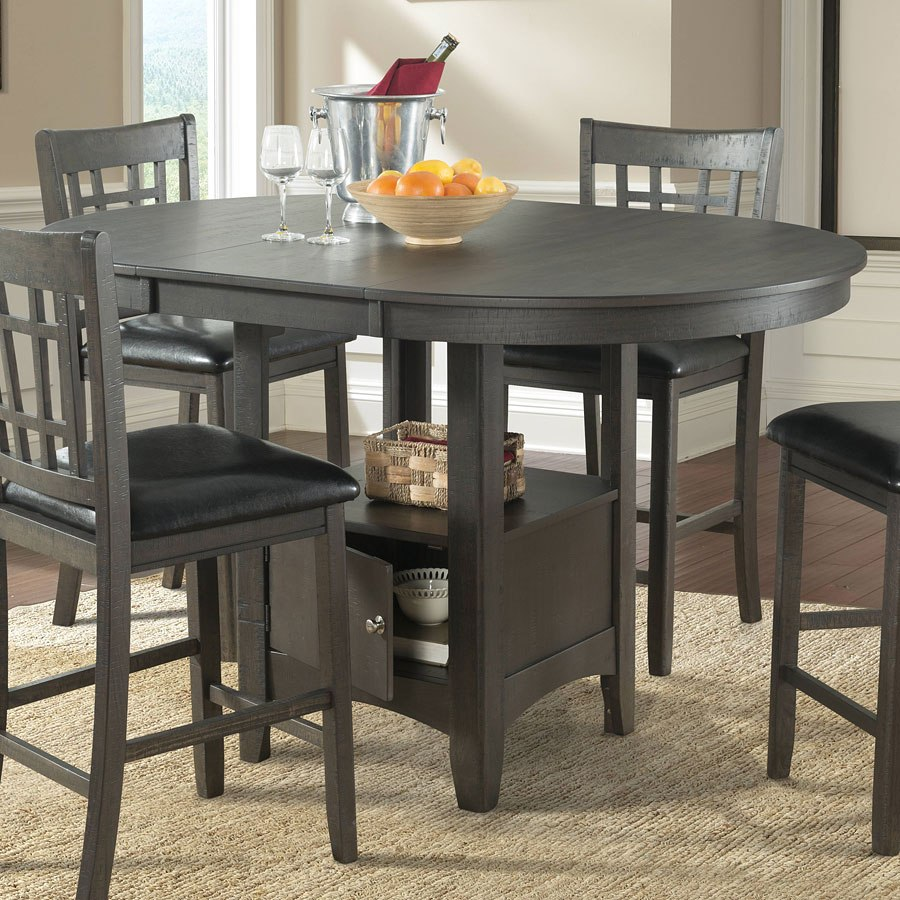 Max Counter Height Dining Room Set Gray By Elements Furniture Furniturepick