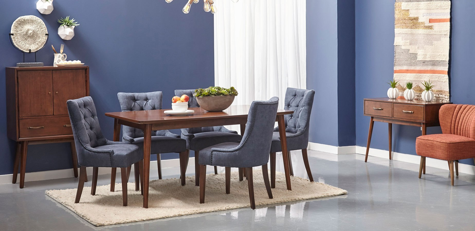 Draper Mid Century Modern Dining Room Set By Pulaski Furniture Furniturepick