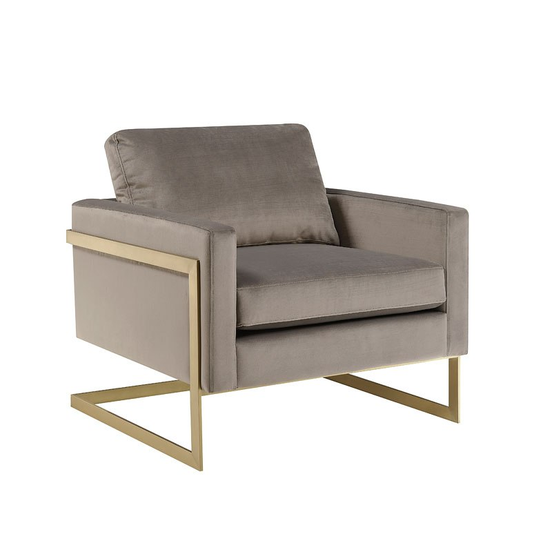 City Chic Gold Frame Accent Chair By Accentrics Home Furniturepick