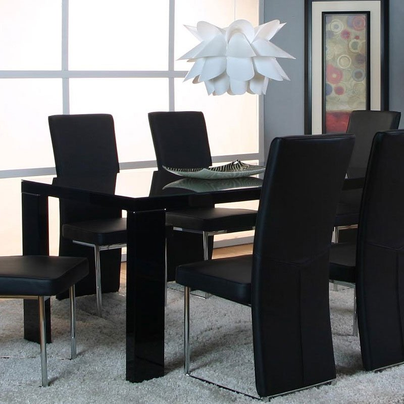 Venice Dining Table Black Cramco Furniturepick