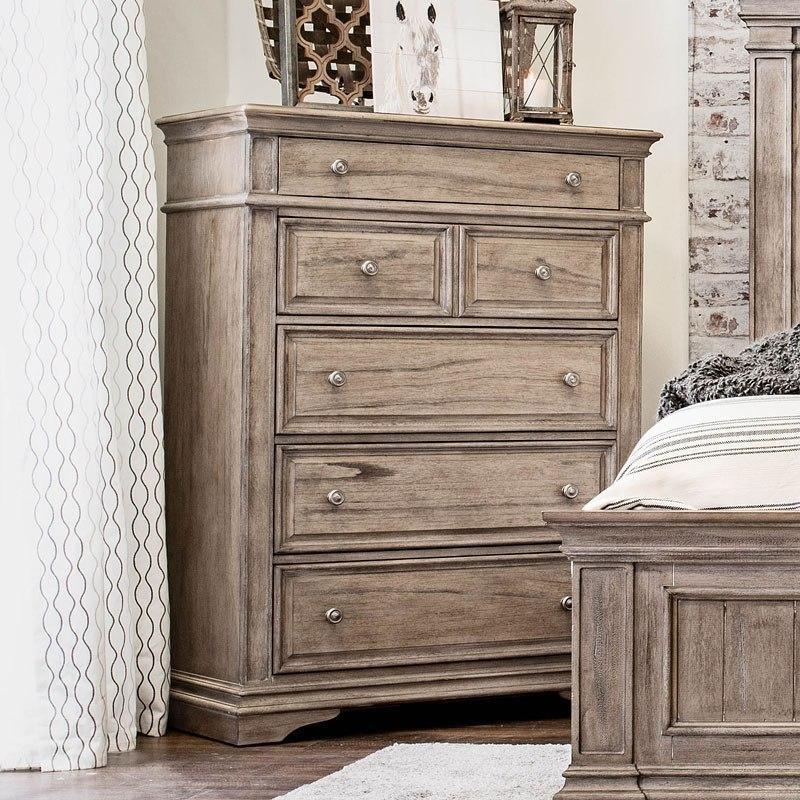 Highland Park Panel Bedroom Set Waxed Driftwood By Steve Silver Furniture Furniturepick