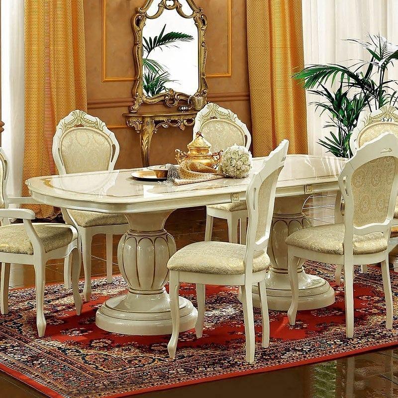 Leonardo Oval Dining Table By Esf