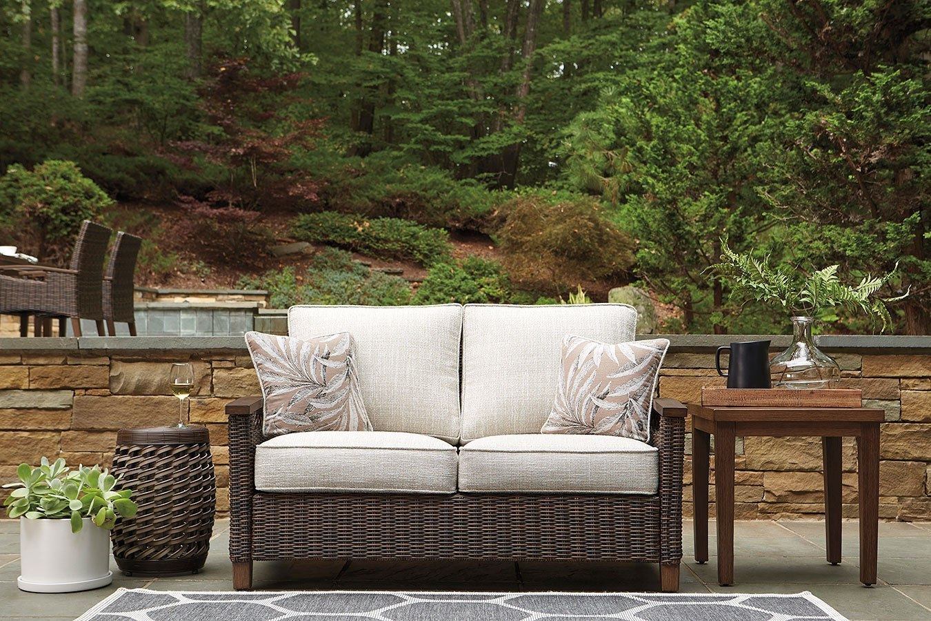 Picture of: Paradise Trail Outdoor Seating Set By Signature Design By Ashley Furniturepick