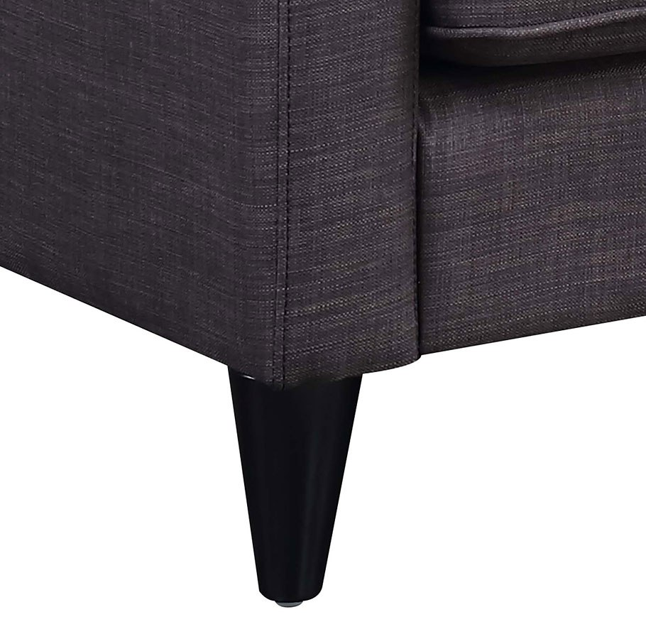 Noah Sofa Chaise (Charcoal) by Elements Furniture ...
