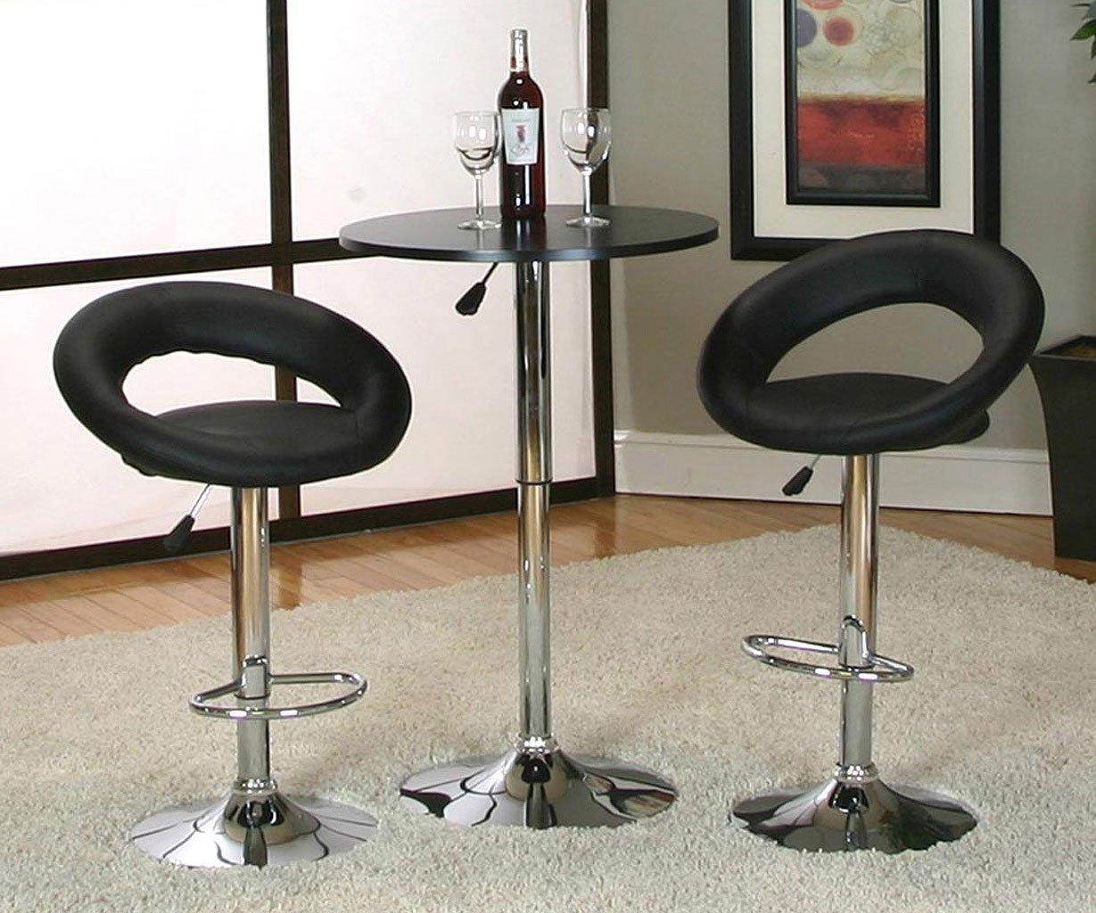 Tempo Bar Table Set w/ Ring Back Barstool