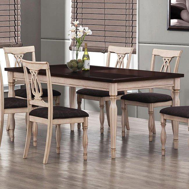 Camille Dining Table Coaster Furniture Furniturepick