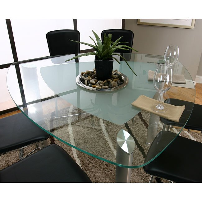 Sirius Triangle Counter Height Dining Table Cramco Furniturepick