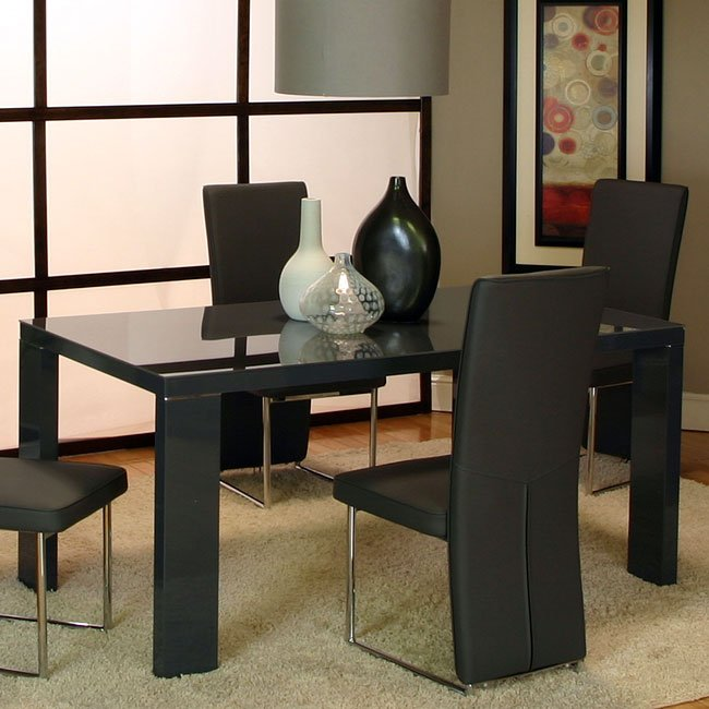 Venice Dining Table Charcoal Cramco Furniturepick