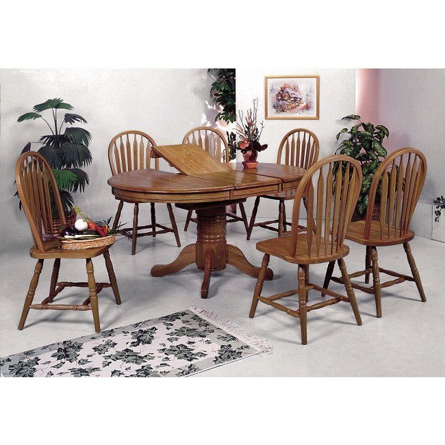 Farm House Oval Dining Room Set By