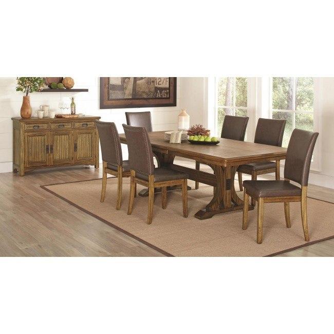 Salerno Dining Room Set By Coaster Furniture Furniturepick
