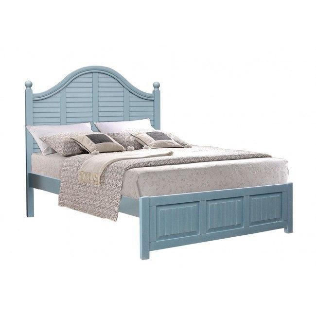 Beachfront Plantation Bedroom Set Ocean Blue By Cottage Creek Furniture Furniturepick