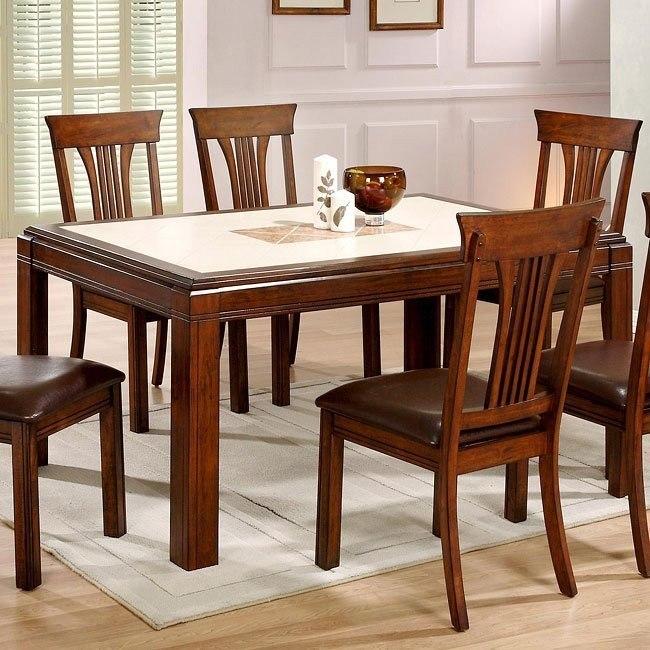 Uptown Tile Top Dining Table Eci Furniture Furniturepick