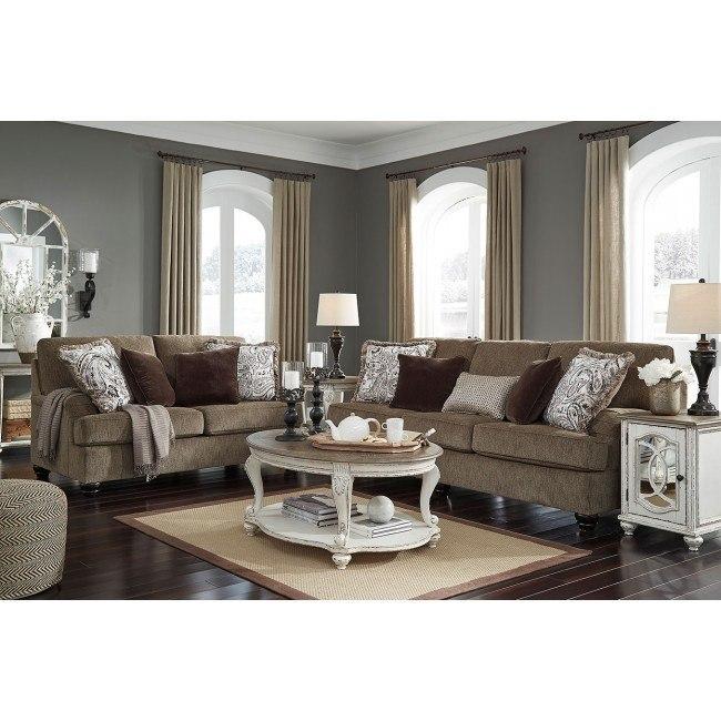 Braemar Brown Living Room Set
