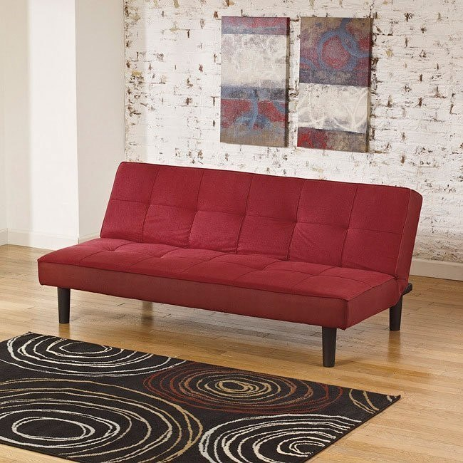 Vara Red Flip Flop Sofa by Signature Design by Ashley ...