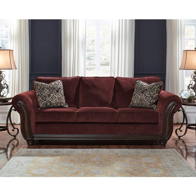 Chesterbrook Burgundy Sofa By Signature Design By Ashley Furniturepick