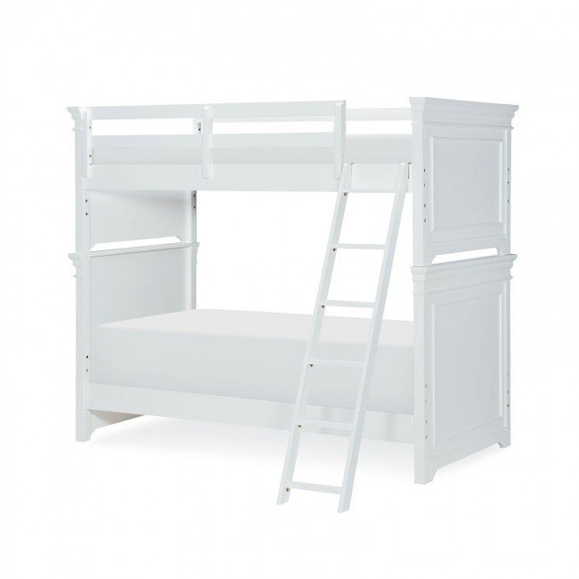 Canterbury Twin Over Twin Bunk Bed Natural White By Legacy Classic Kids Furniturepick