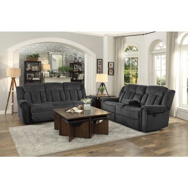 Nutmeg Reclining Living Room Set By Homelegance Furniturepick