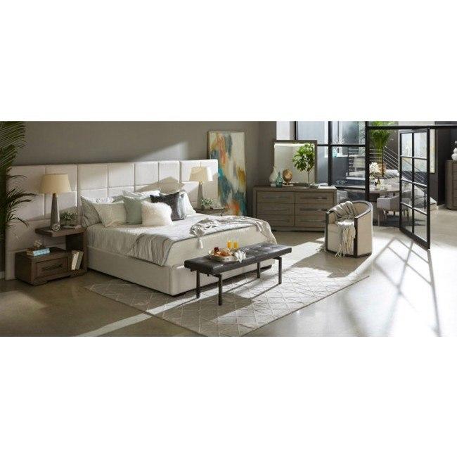 Tru Modern Upholstered Wall Bedroom Set By Accentrics Home Furniturepick